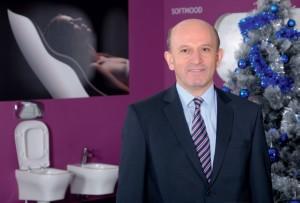 Валентин Ганев, директор на завода за производство на санитарна керамика