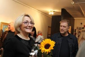 Ирина Колбасова и худ. Стенли Грънчаров