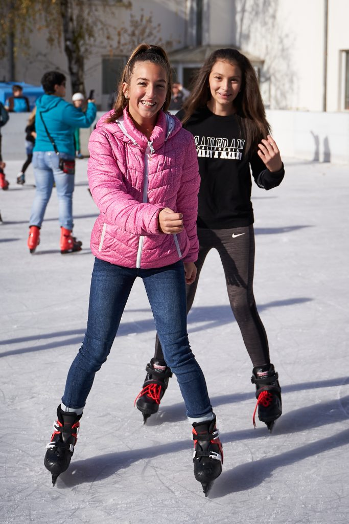 Ideal Standard Vidima празнува 85 години - ледена пързалка